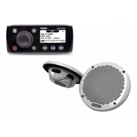 Fusion MS-RA55KTS autoradio MS-RA55 e altoparlanti 165mm MS-EL602