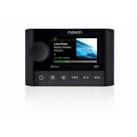 Fusion MS-SRX400 serie Apollo stereo marino dalle dimensioni compatte con Wi-Fi e DSP integrati