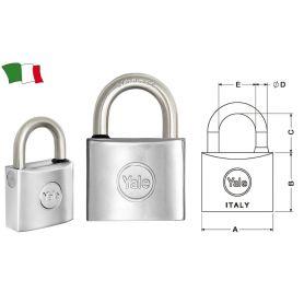 LUCCHETTO NAUTICO YALE 50mm
