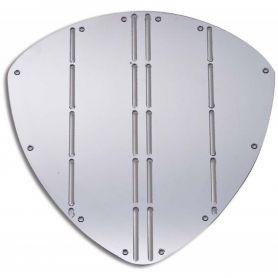 Scudo proteggi prua INOX  dim. 350 x 345 mm
