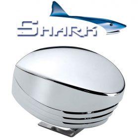 MARCO SHARK tromba singola cromata, blister - 12 V