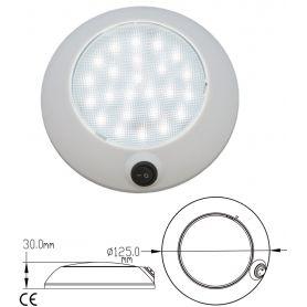 FLAFONIERA ABS 12V 24 x 4.4 W LED D.125 mm