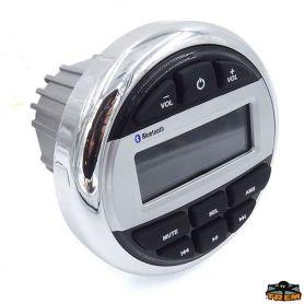 Stereo Radio USB/Bluetooth Tondo per barca TREM