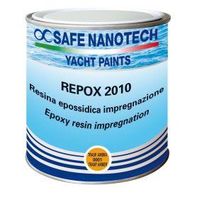 """RESINA EPOSSIDICA  """" REPOX 2010 """" TRASPARENTE AMBRA  ml.750"""