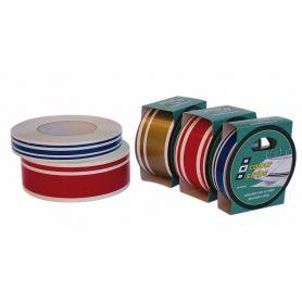 Linea di galleggiamento decorativa a tre striscie colore blu